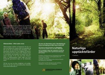 Naturliga upptäcksfärder i Centrum - Norrköpings kommun