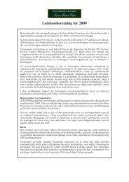 Ledelsesberetning for 2009 - Nielsen - Global Value