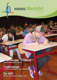 april 2010 - Hondsrug College