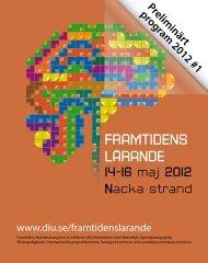 FRAMTIDENS LÄRANDE - Datorn i utbildningen