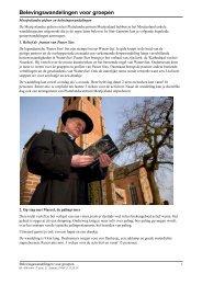 Belevingswandelingen voor groepen - Gemeente Sint-Laureins