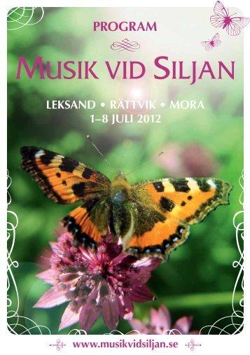 PROGRAM - Musik vid Siljan