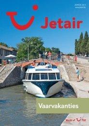 Bekijk de digitale Jetair Vaarvakanties brochure