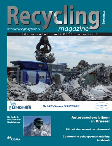 Autorecyclers bijeen in Brussel - Vakblad Recycling Magazine ...