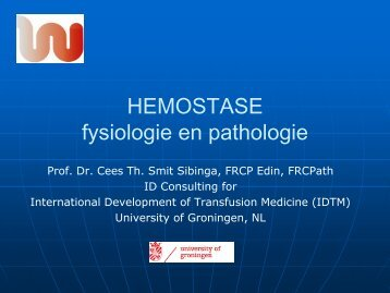 STOLLING fysiologie en pathologie - Spaogs.org