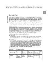 Lothar Jung, 99 Stichwörter zum Unterricht Deutsch als Fremdsprache