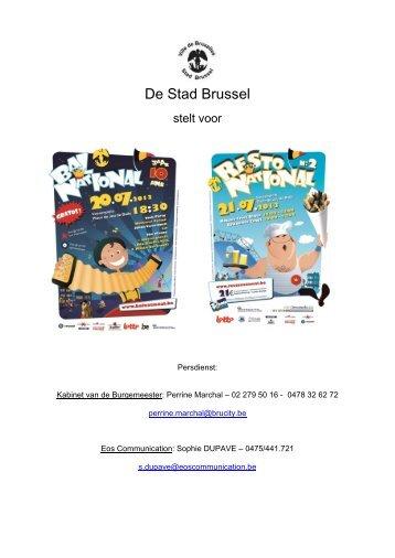 De Stad Brussel - 21.Juli 2013