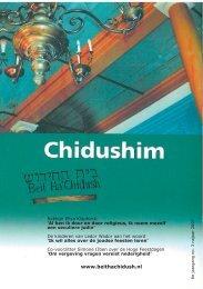 Jaargang 8 nummer 3 - Beit Ha'Chidush