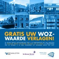 WOZ Analisten - De Nieuwe Wereld brochure