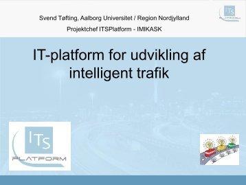 IT-platform for udvikling af intelligent trafik