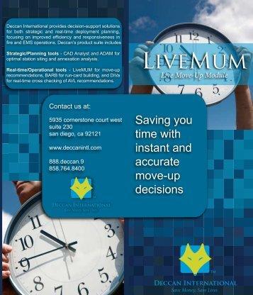 brochure live mum cover - Deccan International