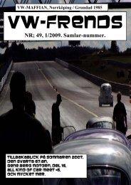 NR; 49, 1/2009. Samlar-nummer. - VW-Maffian i Norrköping