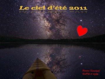 Le Ciel d'été 2011, par Pierre Tournay