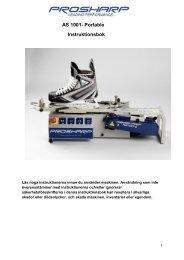 AS 1001- Portable Instruktionsbok - ProSharp