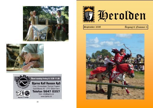 September 2008 Årgang12 Nummer 3 - Herolden