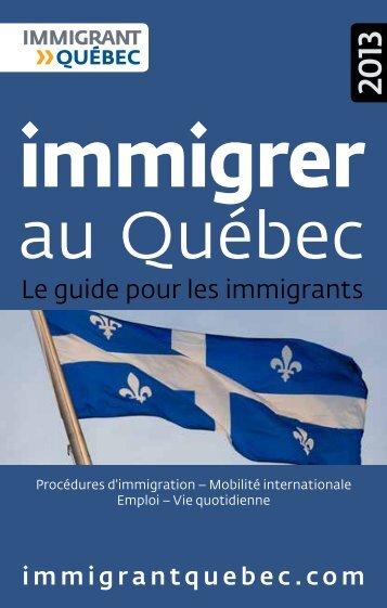 immigrer - Immigrant Québec