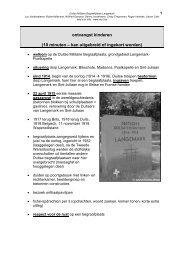 Opdrachtfiches Duitse militaire begraafplaats Langemark