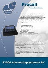 Klik hier voor een folder van de ProCall - P2000Shop