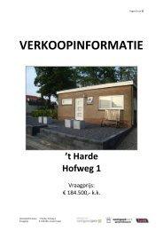 t Harde Hofweg 1 - Boeve Woning- en Bedrijfsmakelaardij