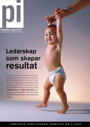 PI2007-6 Ledarskap som skapar resultat.pdf - Kajsa Heinerwall AB