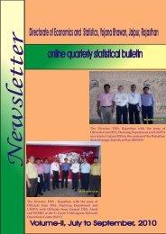 online quarterly statistical bulletin - Directorate of Economics ...