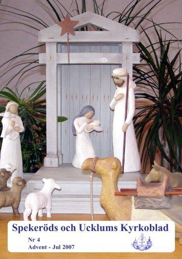 Advent-Jul 2007 Nr. 4(823KB) - Spekeröd