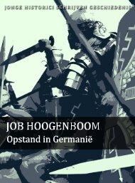 Job Hoogenboom (pdf) - Jonge Historici Schrijven Geschiedenis