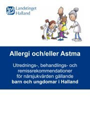 Allergi och/eller Astma - Barn