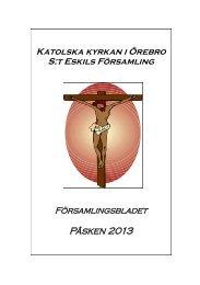 Påsken 2013 - S:t Eskils katolska församling