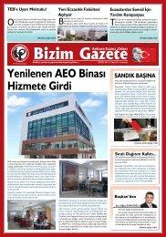 Bizim Gazete - Ankara Eczacı Odası