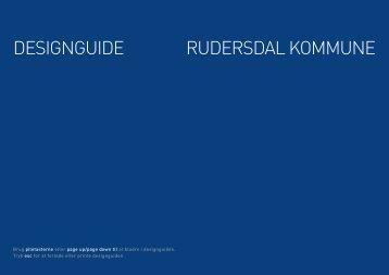 DESIGNGUIDE RUDERSDAL KOMMUNE