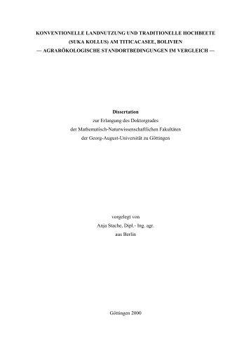 konventionelle landnutzung und traditionelle hochbeete