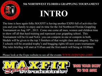5th NORTHWEST FLORIDA GRAPPLING TOURNAMENT