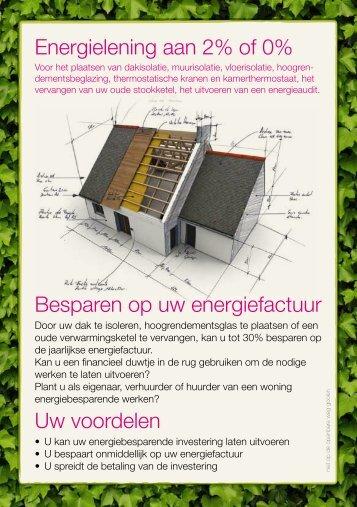 Flyer energieleningen - Energieke Regio