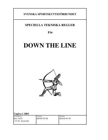 Regler För Down The Line - Beomat