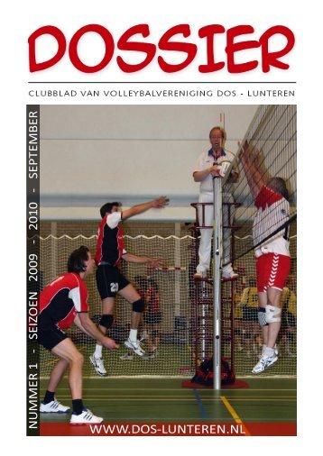 Download - Volleybalvereniging DOS Lunteren