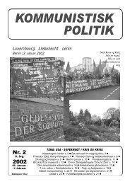KP 2, 2002 - Kommunistisk Politik