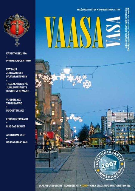 Kaupungin tiedotuslehti 1/2007 - Vaasa