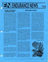 ,:f~jENDURANCE NEWS - Hammer Nutrition