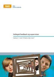53. 50. Kollegial feedback og supervision - Arbejdsmiljoweb.dk