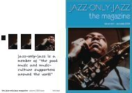 "jazz-only-jazz is a member of ""the good music and music- culture ..."