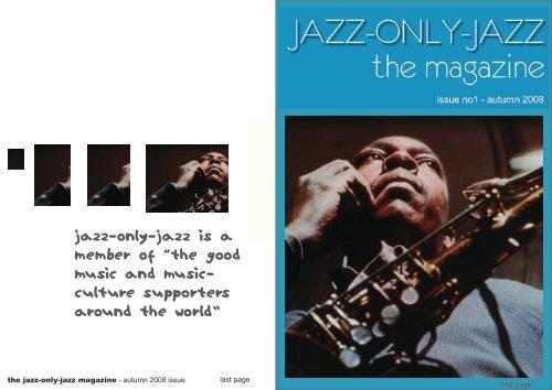 """jazz-only-jazz is a member of """"the good music and music- culture ..."""