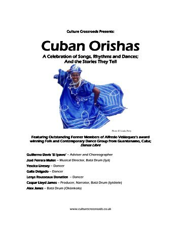 Cuban Orishas Cuban Orishas - Culture Crossroads