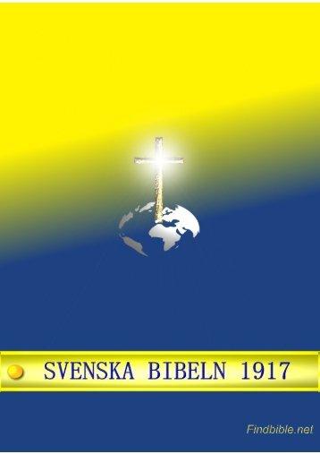 Svenska Bibeln 1917 - findbible.net