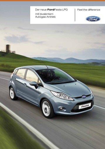 Prospekt zum Fordfiesta mit bivalentem Autogas ... - Auto Fiegl Gmbh