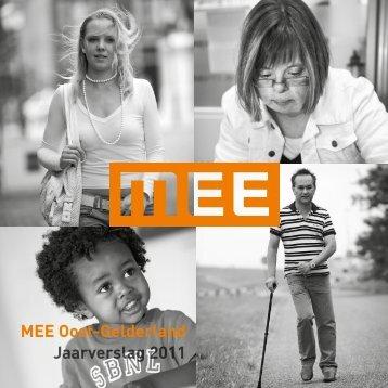 MEE Oost-Gelderland Jaarverslag 2011