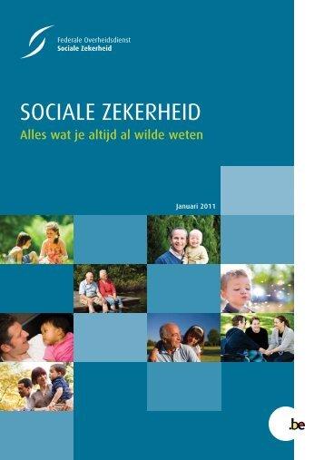 """""""Alles wat je altijd al wilde weten over de sociale zekerheid"""" (.pdf)"""
