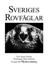 Sveriges rovfåglar.pdf - Fältbiologerna