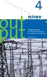 Stedelijke Netwerken Ruimtelijke ontwikkeling door het ... - Nirov