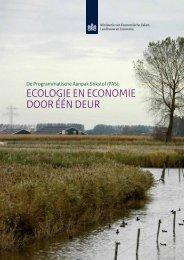 ecologie en economie door één deur - Programmatische Aanpak ...